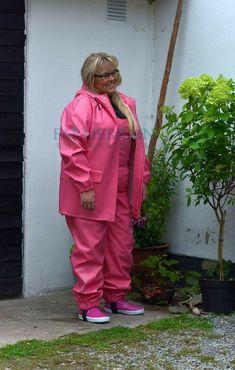 Rain Suit, Pvc Raincoat, Rain Wear, Rain Jacket, Windbreaker, Gas Masks, Suits, Womens Fashion, Farmer