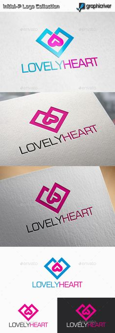 lovely Heart  Logo Design Template Vector #logotype Download it here: http://graphicriver.net/item/lovely-heart-logo/11775063?s_rank=731?ref=nexion