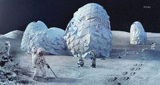 Selecionados vencedores de concurso para Colônias na Lua