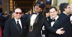 #Oscar #Oscars  Sérgio Mendes e Carlinhos Brown e o diretor Carlos Saldanha. Rio!!!