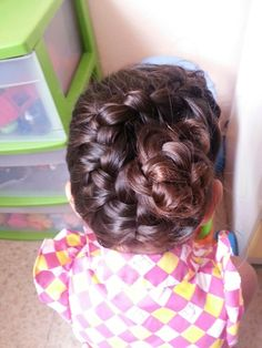 Flower braid for kids