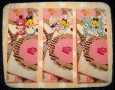 Berry Sweet Treats :: Alice in Wonderland Inspired MOO Mini Cards by Sabrina Dee Berry, via Flickr