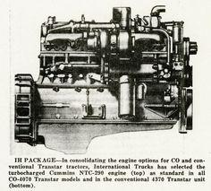 Cummins NTC-290 Engine   Print   Wisconsin Historical Society