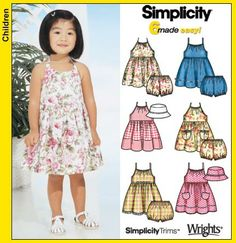 simplicity patterns for toddlers   ... paper pattern and not the finished item the pattern is brand new and