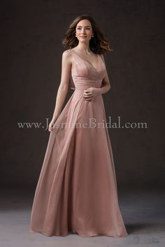 5813a2a63b1 JASMINE BRIDAL. Long Bridesmaid DressesCouture ...