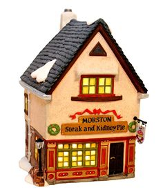 C/o Pam  Department 56 Morston Steak and Kidney Pie Dickens' Village Series *** See this awesome image : Decor Collectible Buildings and Accessories