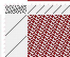 draft image: Page 031, Figure 06, Atlas D'Armures Textiles, B. Fressinet, 8S, 20T