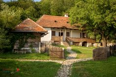 Prince Charles's guest house from Transylvania. Old Country Houses, Country Life, Beautiful Homes, Beautiful Places, Visit Romania, Stone Houses, Modern Landscaping, Tropical Houses, Sustainable Architecture