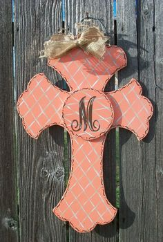 Cross Wood Door Hanger