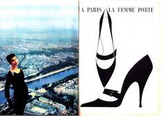A la Recherche des Modes Perdues et Oubliées: Le Jardin des Modes - Octobre 1956 *