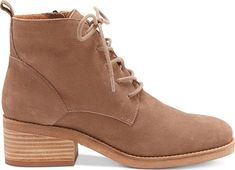 Consider the Lucky Brand Tamela Lace-Up Booties. Fashionable boots from the brand Lucky Brand featured in Brindle. Look like a boss with these boots created by Lucky Brand. #boots #booties #ankleboots #shoes #fashion