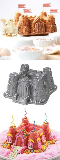 http://www.kitchenstyleideas.com/category/Nonstick-Pan/ http://www.idecz.com/category/Nonstick-Pan/ Castle cake pan! #product_design #baking                                                                                                                                                     More