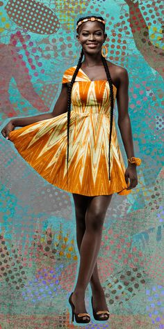 Perl'Or de Woodin - Woodin Sooo in love with your dresses Woodin!!African Patterns