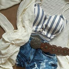 Girly Outfits, Women's Fashion, Shorts, Jeans, Casual, Cute, Clothing, Closet, Inspired Outfits