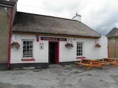 Conways Pub, Donegal. Cottage Style Shopfront, a gorgeous little pub inside & out!!