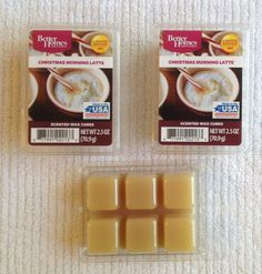 Better Homes and Gardens Christmas Morning Latte Scented Wax Cubes for sale online Coffee Theme Kitchen, Scented Wax, Better Homes And Gardens, Christmas Morning, Wax Melts, Ice Cube Trays, Scentsy, Cubes, Latte