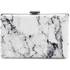 Balenciaga Printed Leather Box Clutch (6,170 CNY) ❤ liked on Polyvore featuring bags, handbags, clutches, white, balenciaga purse, real leather handbags, hard clutch, leather clutches and white leather purse