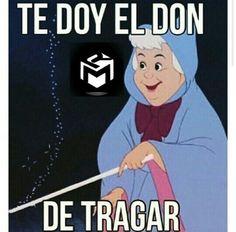 Te doy el donde tragar #gorda #princesa #disney #memes