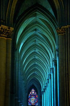 Arches - Reims Cathedral, France