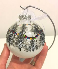 Christmas decoration bauble festive snow by DragonflyArtDesign1