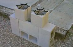 DIY Dual Burner Rocket Stove | Our Daily Ideas