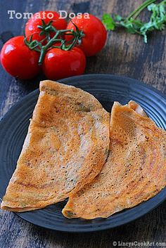 Instant Tomato Dosa ~ Lincy's Cook Art