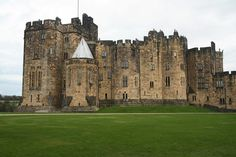 Alnwick Castle is located in Alnwick, Northumberland and owned by the Percy family, used to film Hogwarts scenes