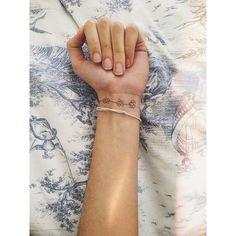 Bracelet tattoo ❤
