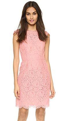 Shoshanna Women's Olivia Dress, Peach - http://www.womansindex.com/shoshanna-womens-olivia-dress-peach/