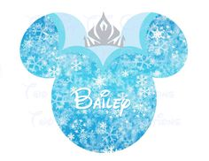Frozen Elsa Personalized Name Printable Image for Iron On Transfer DIY Disney Birthday Disney Anna on Etsy, $5.00