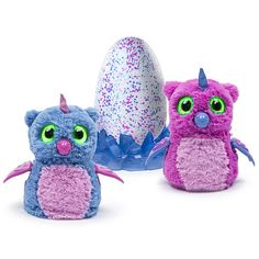 """Hatchimals Owlicorn Pink/Blue Egg - One of Two Magical Creatures Inside - Spin Master - Toys """"R"""" Us"""
