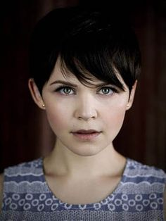 the adorable elfin cut.. perfect for snow white but am i just too old...