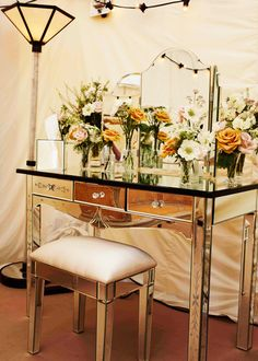 Kate Moss's Great Gatsby inspired wedding vanity