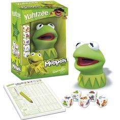 Muppet Yahtzee! When will Scout be old enough to play it with me?