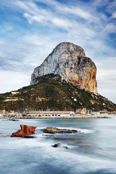 El peñón de Ifach, en Calpe (Alicante)