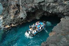 Exploring sea caves on the Kona Coast is a fun boomer travel adventure!