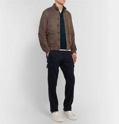 Valstar - Valstarino Slim-Fit Unlined Suede Bomber Jacket Suede Jacket, Bomber Jacket, Tom Ford T Shirt, Thing 1, Fashion News, Women Wear, Trousers, Normcore, Sporty