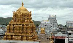 Tirumala Venkateshwer Temple -- Tirumala Venkateswara Temple is a famous Vedic temple in the hill town of Tirumala, near Tirupati in Chittoor district of Andhra Pradesh. ------- Address: Address: S Mada St, Tirumala, Tirupati, Andhra Pradesh 517504 Tirumala Venkateswara Temple, Temple India, Hindu Temple, South India Tour, Indian Temple Architecture, Architecture Details, Sanctum Sanctorum, Barcelona, One Day Trip