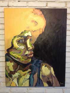 Acrílica sobre tela  Artista: Ricardo Subires  Releitura