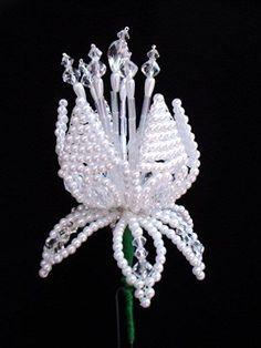 Tembleques de la Pollera Panameña: Tembleques de Perlas y cuentas