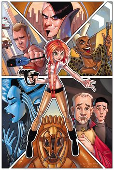 The Fifth Element by ChrissieZullo