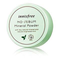 Innisfree No Sebum Mineral Powder Small(5g) Large(15g) - WanTrend