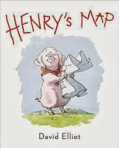 Henry's Map, written and illustrated by David Elliot. Provo City Librarian pick.