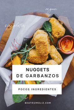 Cómo hacer Nuggets Veganos · Beatriz Moliz - Dünya mutfağı - Las recetas más prácticas y fáciles Vegan Recipes, Cooking Recipes, Vegan Life, Food Porn, Veggies, Healthy Eating, Lunch, Yuri, Diet