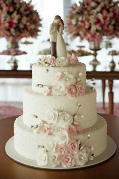 cutest floral wedding cake, you will love it - wedding cakes - . - cutest floral wedding cake, you& love it – wedding cakes – … – # - Wedding Cake Red, Elegant Wedding Cakes, Beautiful Wedding Cakes, Wedding Cake Designs, Wedding Cake Toppers, Beautiful Cakes, Amazing Cakes, Floral Wedding, Trendy Wedding