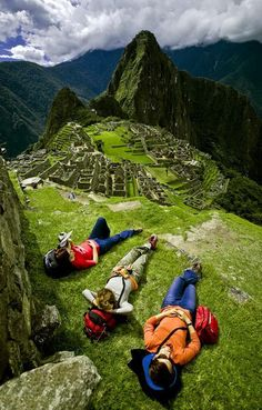 Fam in Lima. Fly to Cusco. Hike Inca Trail. Camp in Machu Picchu. Be filled with wonder. @amandabde