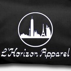 L'Horizon Logo und Schriftzug - Sporttasche