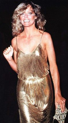 Stephen Burrows gown at the 1978 Academy Awards