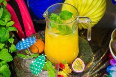 Lemoniada z mandarynek i marakui. #smacznastrona #karnawal #marakuja #mandarynki #lemoniada #przepis #mniam #food
