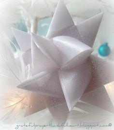Folded Paper German Star Tutorial